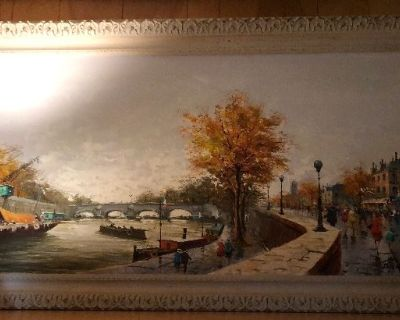 Estate Sale with Vintage Items and Antiques