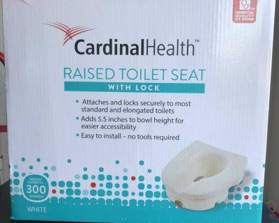 Raised Toilet Seat NIB