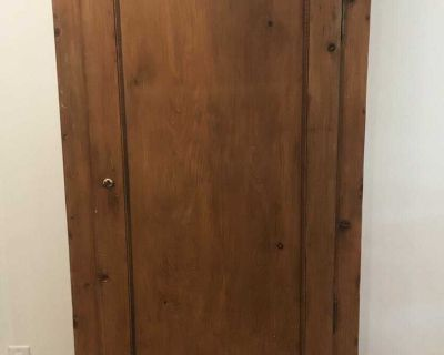 Antique Cabinet - Approx 85-110 yrs old (refinished)