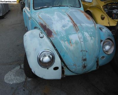 [WTB] wanted 61-67 vw bug front clip