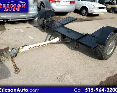 Used 2000 Master Tow Dolly Base