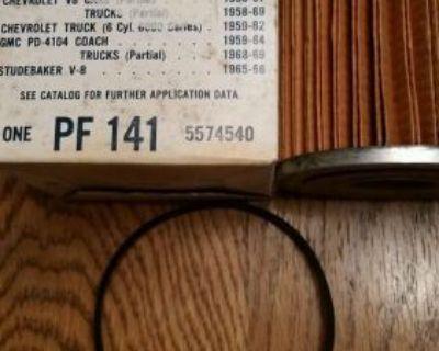 Nos Pf141 Oil Filter Chevrolet Chevy Corvette 1958 59 60 61 + Others