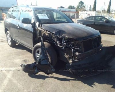 Salvage Black 2011 Toyota Rav4