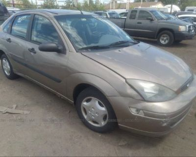 Salvage Champagne 2003 Ford Focus