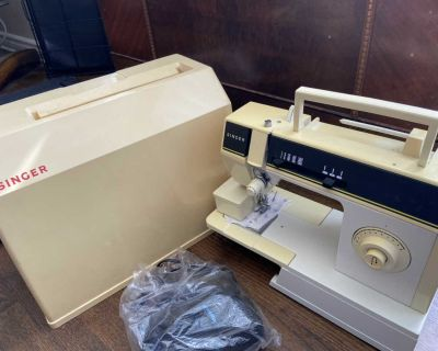 Singer Sewing Machine 6211C ZigZag With Pedal