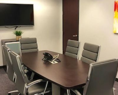 Private Meeting Room for 6 at Peachtree Offices at Perimeter, LLC.