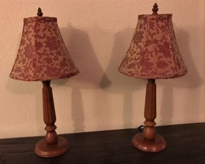 Lamps Table Top set of two