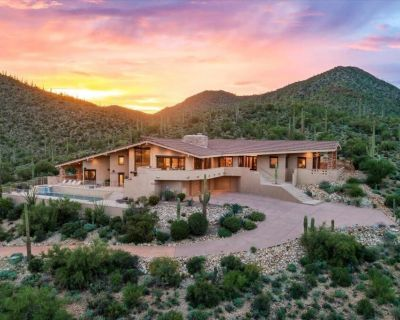 Saguaro Mountain Retreat With Stunning City Views   Private Pool & Hot Tub - Starr Pass
