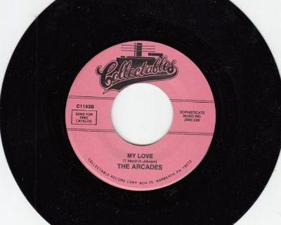 ARCADES ~ My Love*Mint-45 !