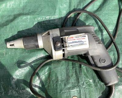 Cadman electric drywall drill