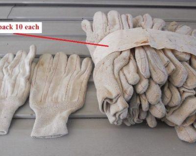 Work Gloves 100 % Cotton