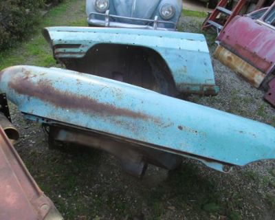 '56 Packard Executive Front Left & Front Right Fender Pair Used Good Condition