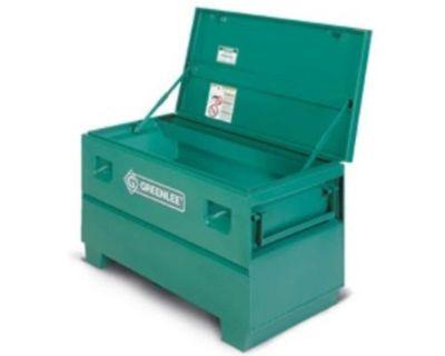 Job site storage box