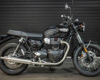 2022 Triumph Bonneville T100 Jet Black
