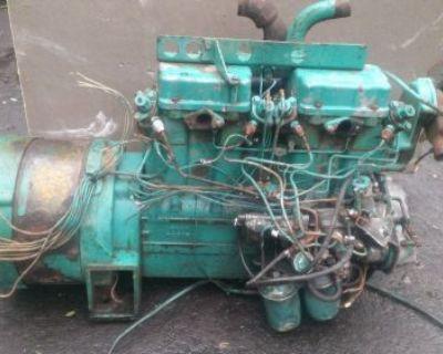 Onan 4 Cylinder Diesel Generator Setup