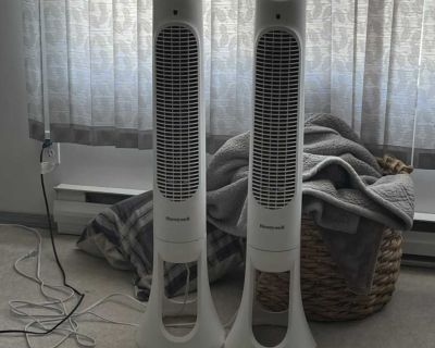 2 tower fans