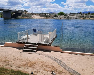 WATERFRONT*PRIVATE BOAT RAMP*SANDY BEACH *GATED COMMUNITY, 3.5 bedrooms, 2 bath - Mohave Valley