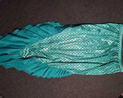 Cat & Jack Mermaid Tail Swim Skirt Sz XL (14-16)
