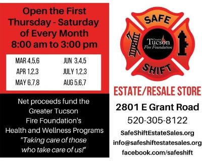 SAFE SHIFT - Greater Tucson Fire Foundation