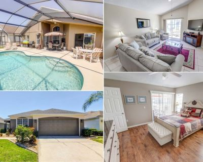 Tile & Hardwood Floors - 2 Master Ensuites - South Facing Pool - Southern Dunes - Haines City