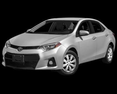 Pre-Owned 2015 Toyota Corolla L FWD 4D Sedan