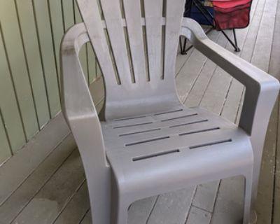 Adirondack outdoor patio chair