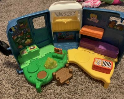 Fischer price little people camper only