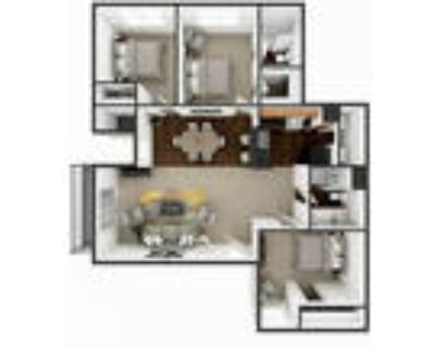 Palo Duro Place Apartments in Amarillo TX - Three Bedroom Two Bath