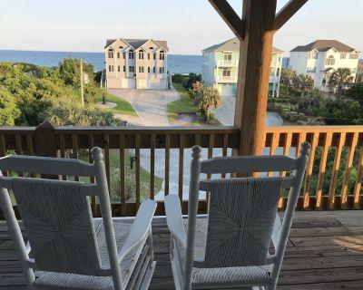 Thanksgiving Open! Great Ocean View/Quiet Cul-de-sac/Linens/Walk to Beach/Shops - Emerald Isle