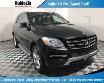 Used 2014 Mercedes-Benz M-Class 4MATIC 4dr