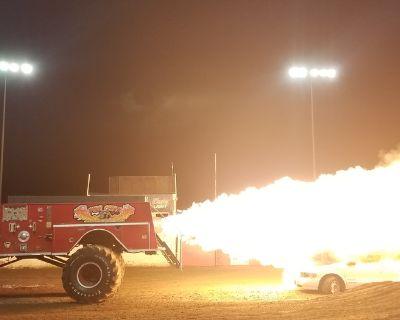 Monster Jet Ride Truck Operation -Hauler-Trailer