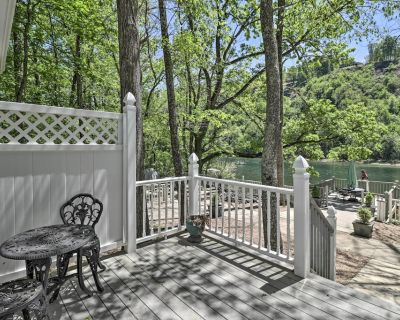 NEW! Trout Fishing Retreat on White River w/ Patio - Lakeview