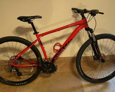 Mens Red Marin Mountain Bike Rock Springs M/L in Excellent Condition