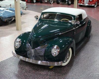 1940 Mercury Convertible Hot Rod Custom