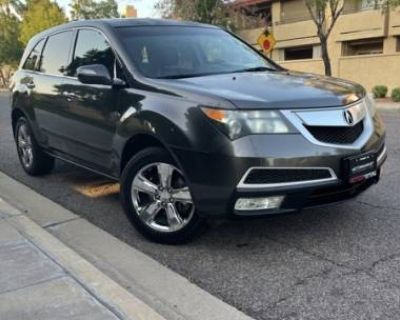 2011 Acura MDX Technology with Entertainment Package