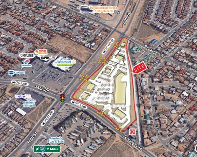Retail Pad Sites in Underserved Retail Trade Area