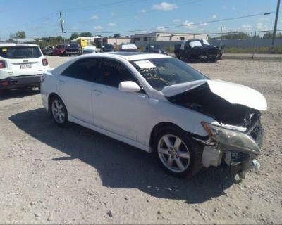 Salvage White 2009 Toyota Camry