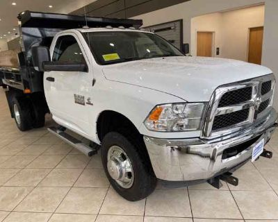 2018 Ram 3500 Chassis Cab Tradesman W/Rugby Dump Body
