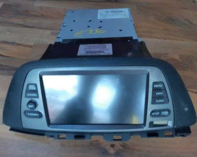 Navigation and back-up screen