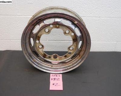 5/63 KPZ Porsche 356 Wheel Chrome Steel #2