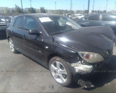 Salvage Black 2006 Mazda Mazda3