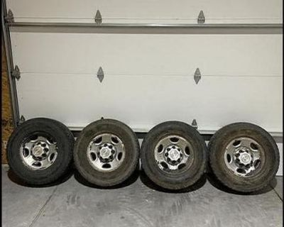 03 Chevy 2500 wheels and tires