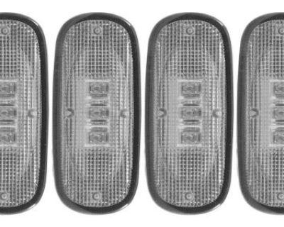 Anzo Usa 861104 Led Dually Fender Lights Fits 03-09 Ram 3500