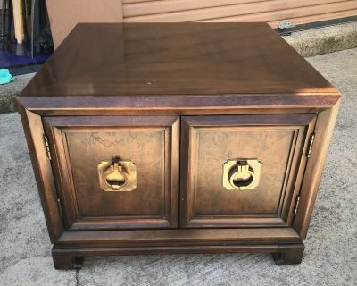 End Table, Hint of Oriental.