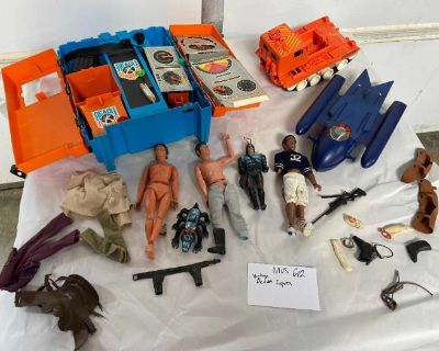 Vintage Toy Treasure Trove & Coin Auction