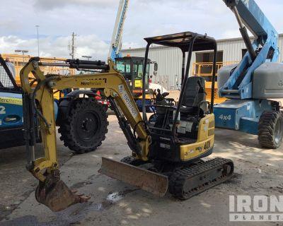 2017 (unverified) Yanmar VIO17-A Hydraulic VG Mini Excavator