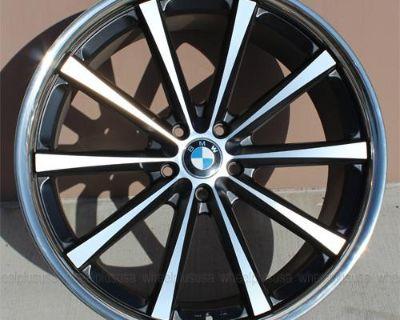 "22"" 22x9/22x10.5 Bmw X5 X6 F01 740i 750li F12 F13 640i 650i Coupe Convertible"