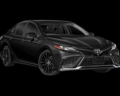 New 2022 Toyota Camry TRD FWD InTransit