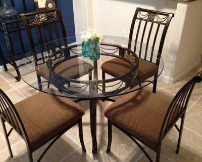 Dining Table & Bakers Rack For Sale
