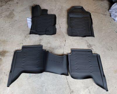 Texas - New Ford Ranger Supercrew Floor Liners